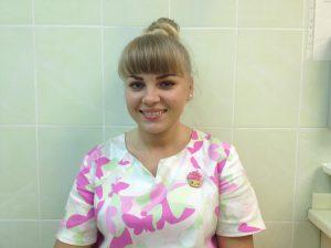 Виолетта ассистент врача-стоматолога
